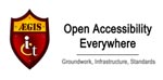 Logotipo AEGIS:Open Accessibility Everywhere: Groundwork, Infrastructure, Standards